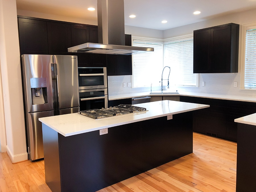 Image of a Sammamish kitchen remodel done by Makswell Construction