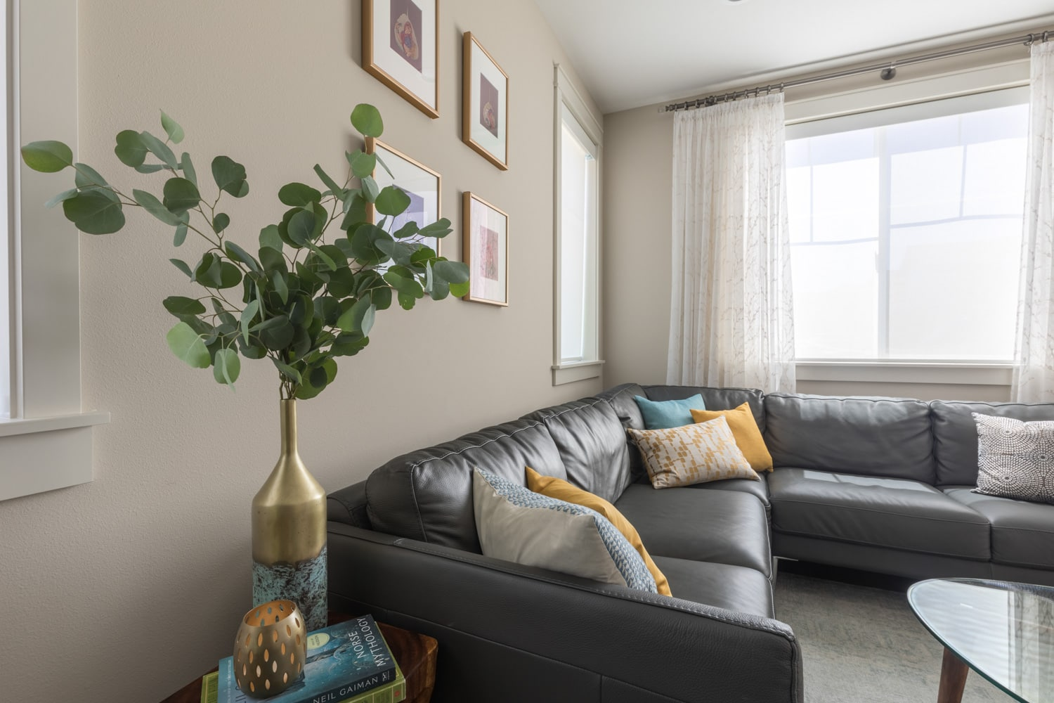 Makswell Construction Living Room Remodel Seattle Contractor